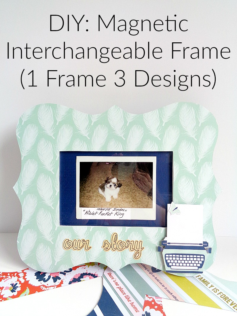 Running With A Glue Gun Diy Magnetic Interchangeable Frame 1 How To Build 3 Designs