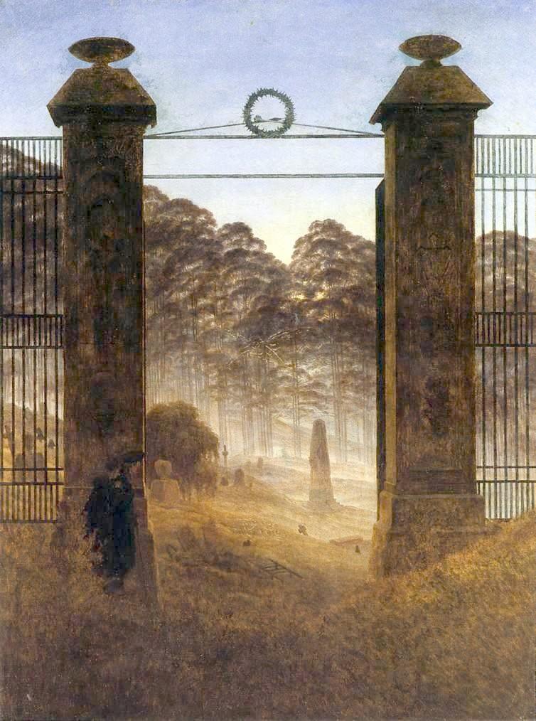 Finestre Su Arte Cinema E Musica Luomo E La Natura Caspar David