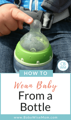 How to Wean Baby From a Bottle to a sippy cup. Get baby drinking milk from a sippy cup each day instead of the bottle.