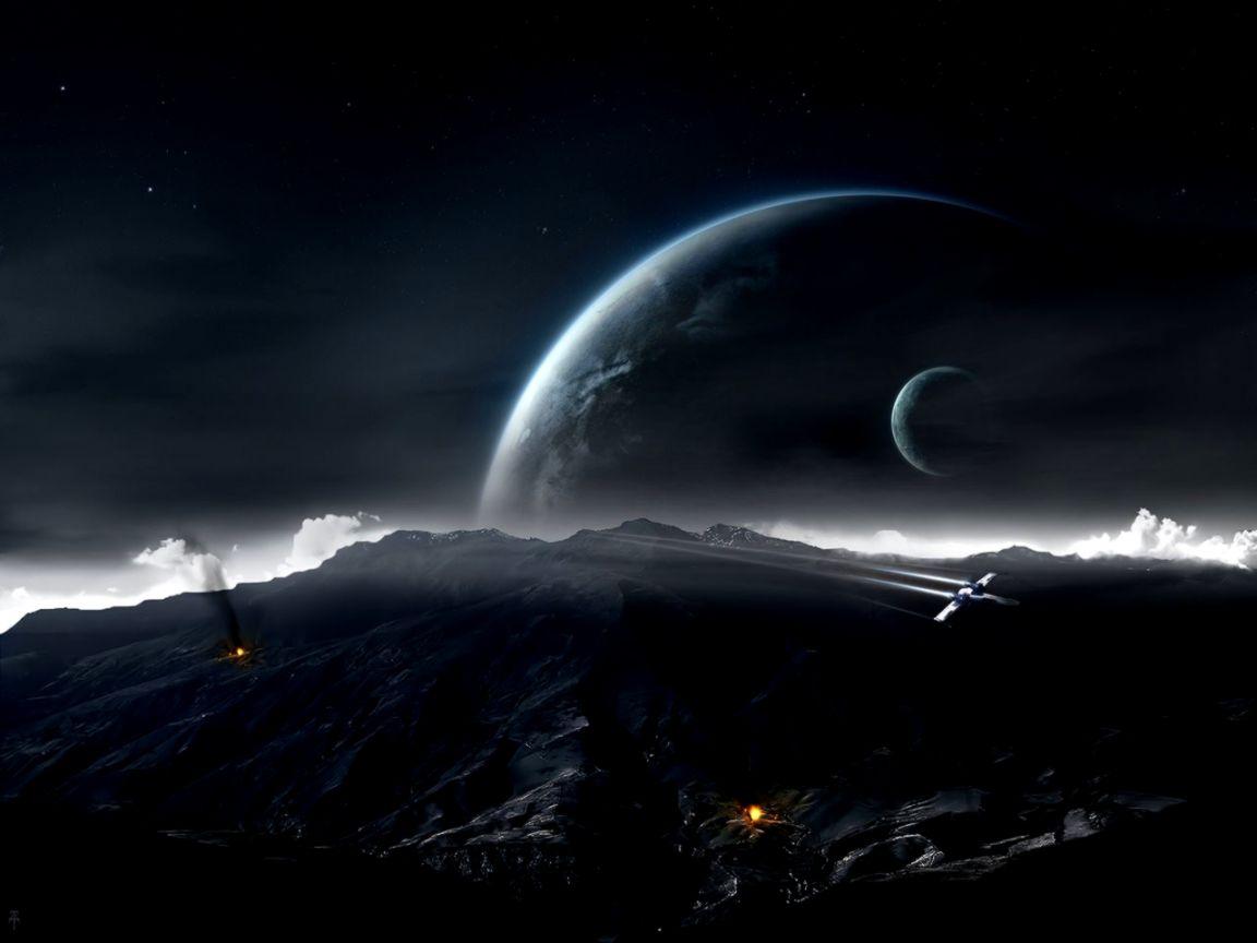 Fantasy Space Star Wars Art Wallpaper Desktop Wallpapers