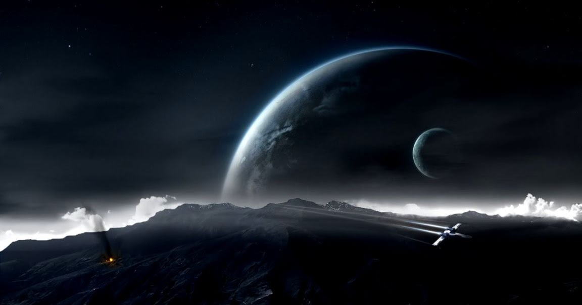 star wars planet moon battle space art wallpapers hd desktop
