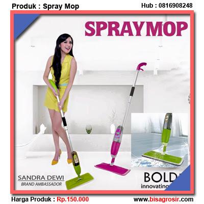 Alat Pel Spray Mop Microfiber Bolde