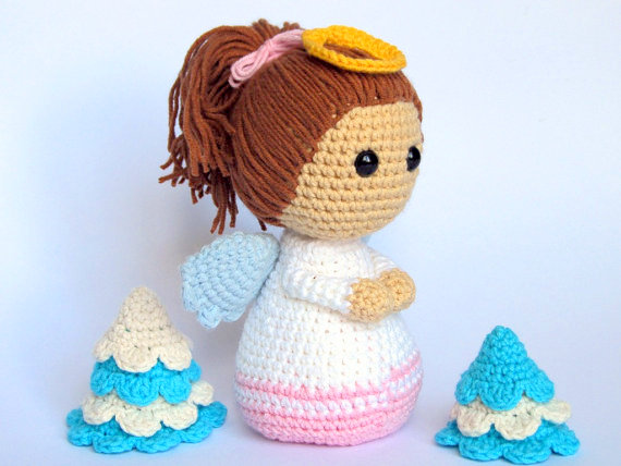10 Free Crochet Angel Amigurumi Patterns - 99 Crochet | 428x570