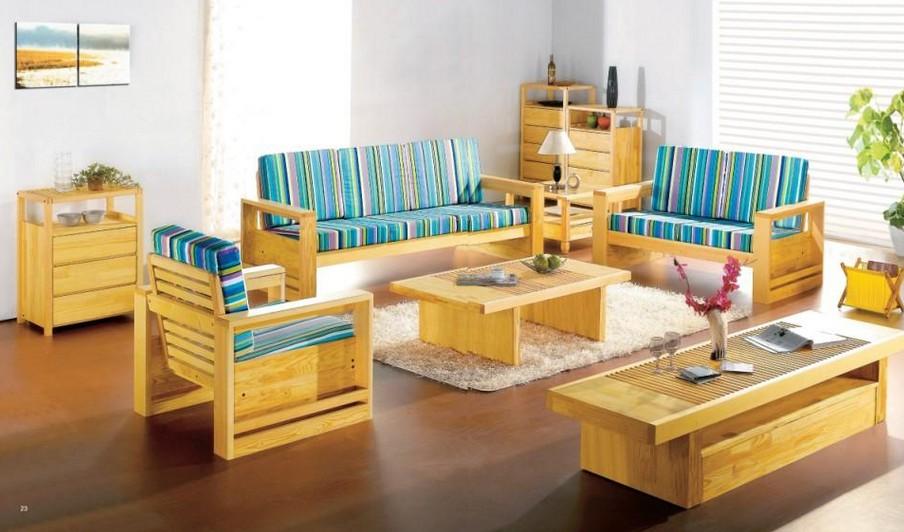 12 Model Dingklik Kayu Untuk Ruang Tamu - Desain Rumah
