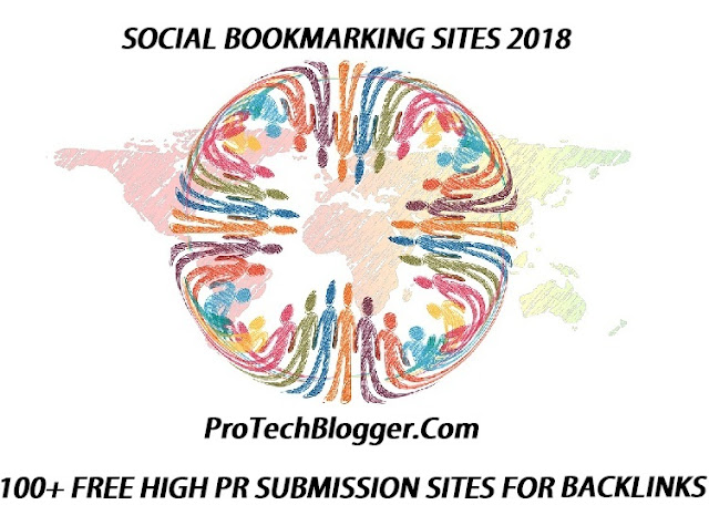 A list of latest high PR dofollow social bookmarking sites for generating quality backlinks to your website and improve search rankings.