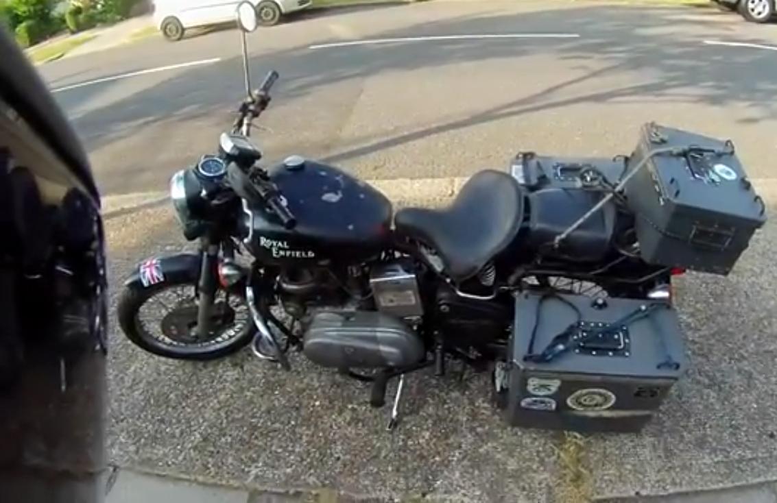 diesel wash motorcycle