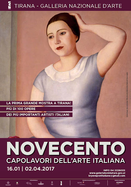 A Tirana in mostra i capolavori del Novecento italiano (16 gennaio - 2 aprile 2017)
