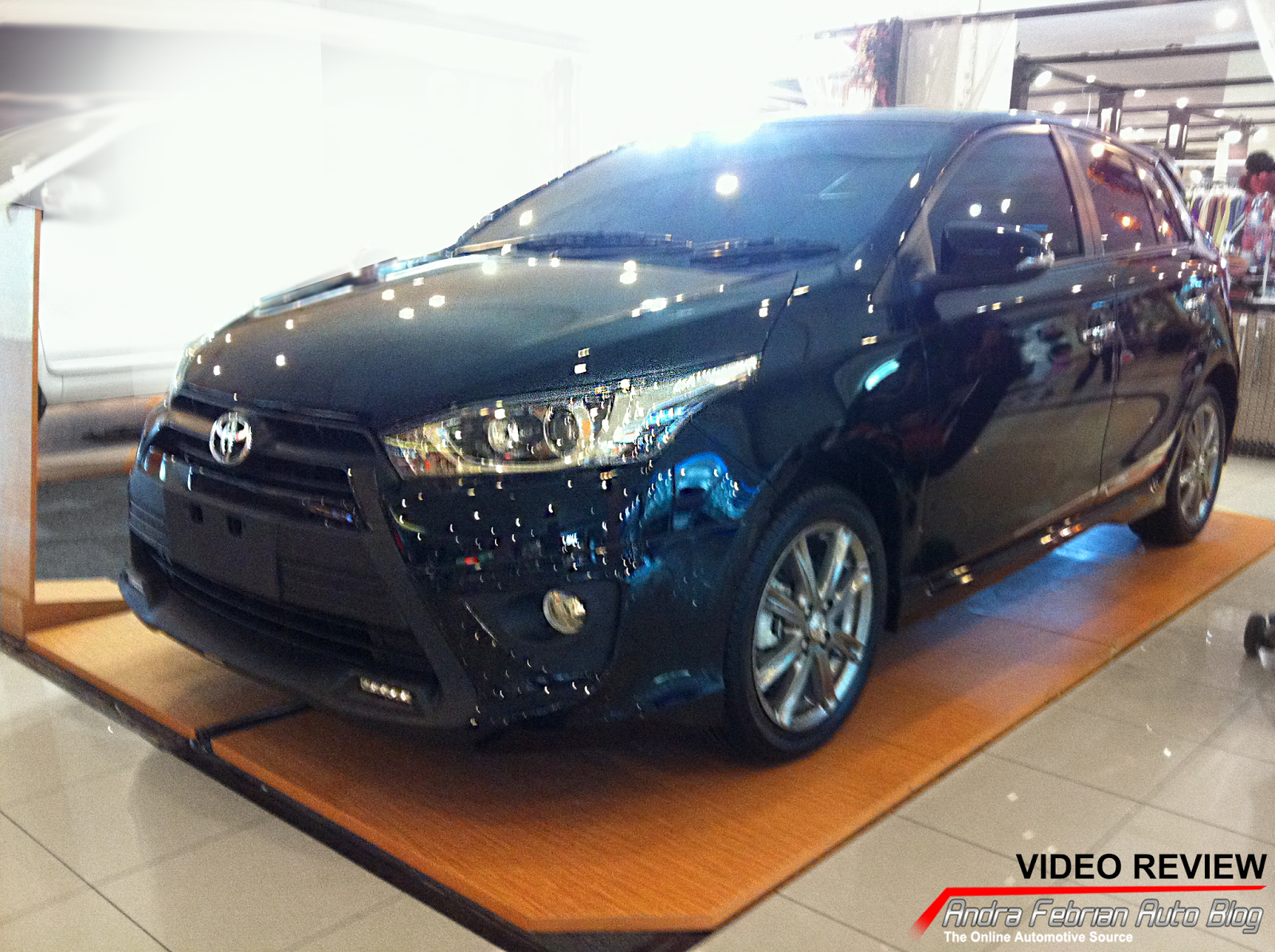 All New Yaris Trd Grand Avanza G Hitam First Impression Toyota 2014 Andra