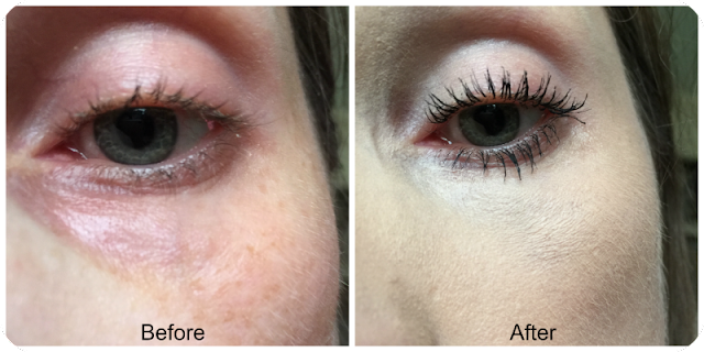 before and after essence i love extreme crazy volume mascara
