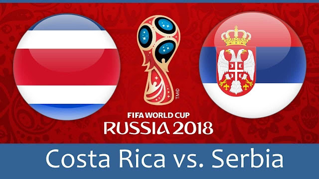 Costa Rica vs Serbia Full Match Replay 16 June 2018