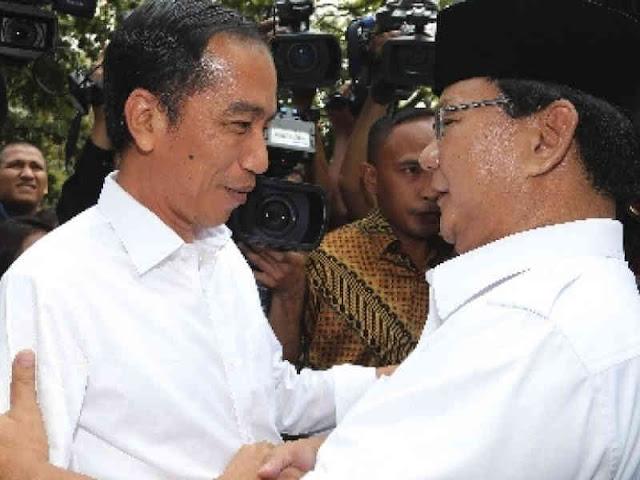 Jokowi - Amin Capai 54 Persen pada Real Count KPU RI, Prabowo - Sandi Capai 45 Persen