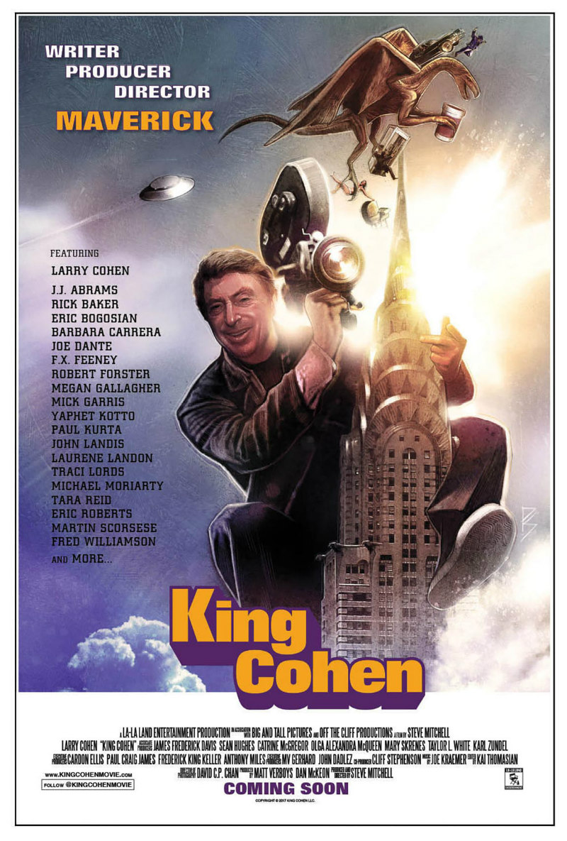 king cohen the wild world of filmmaker larry cohen poster
