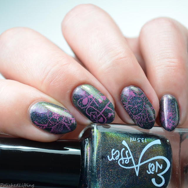 nature themed nail art