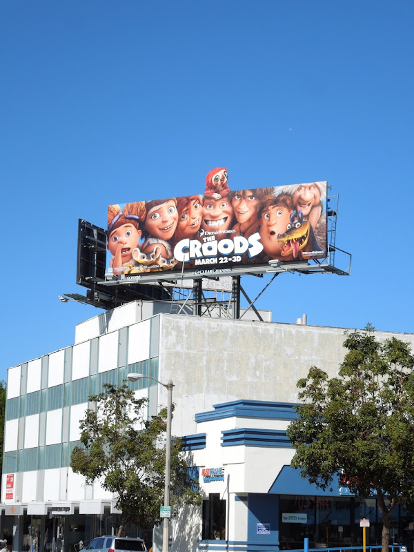 DreamWorks Croods billboard