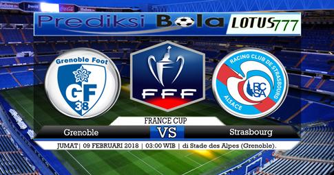 PREDIKSI SKOR   Grenoble vs Strasbourg  09 Februari 2018