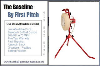 Baseline Grounders Fly Balls Affordable Batting Practice Full Size Baseball Softball Combo