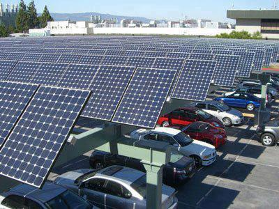 Solar Parking Lot My Crazy Email