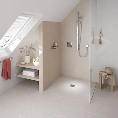 kamar mandi sederhana nuansa alam