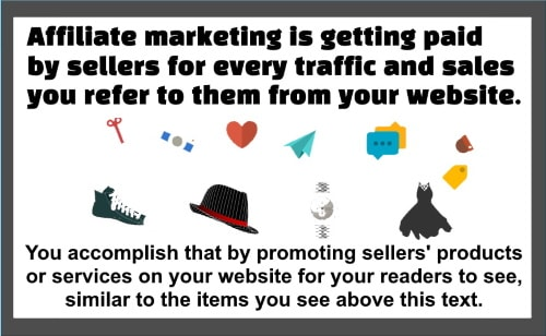 Affiliate marketing is a business that only needs very small capital to start.