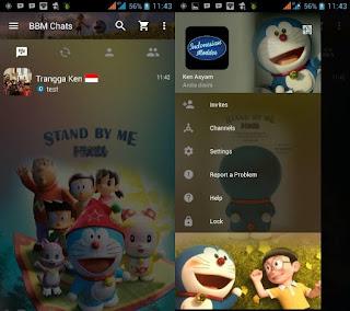 BBM Mod Doraemon 3D