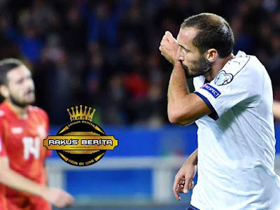 Giorgio Chiellini Mencetak Gol Kontra Makedonia