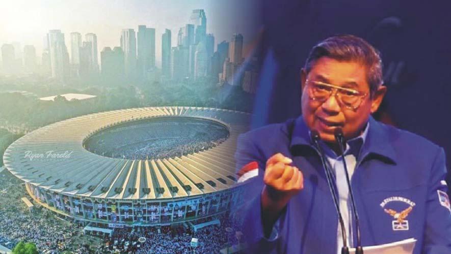 SBY tak setuju konsep kampanye akbar
