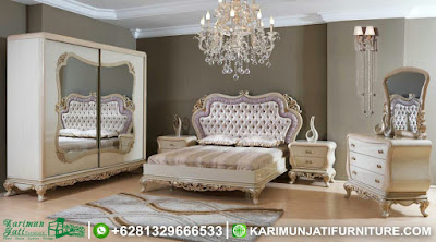 Set Tempat Tidur Elegant Jepara KJF-015