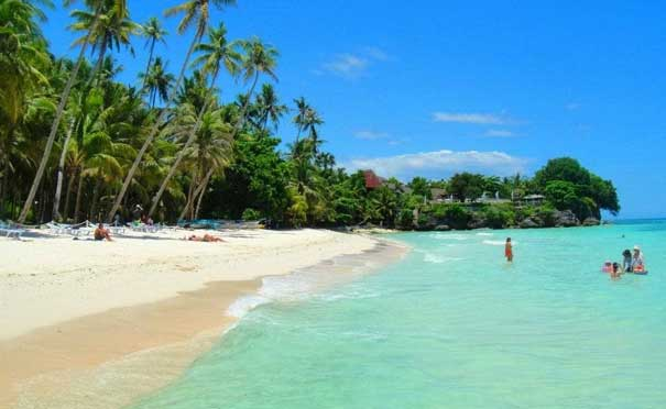 Best and Famous tourist spots  white beach in alona panglao bohol philippines 2018