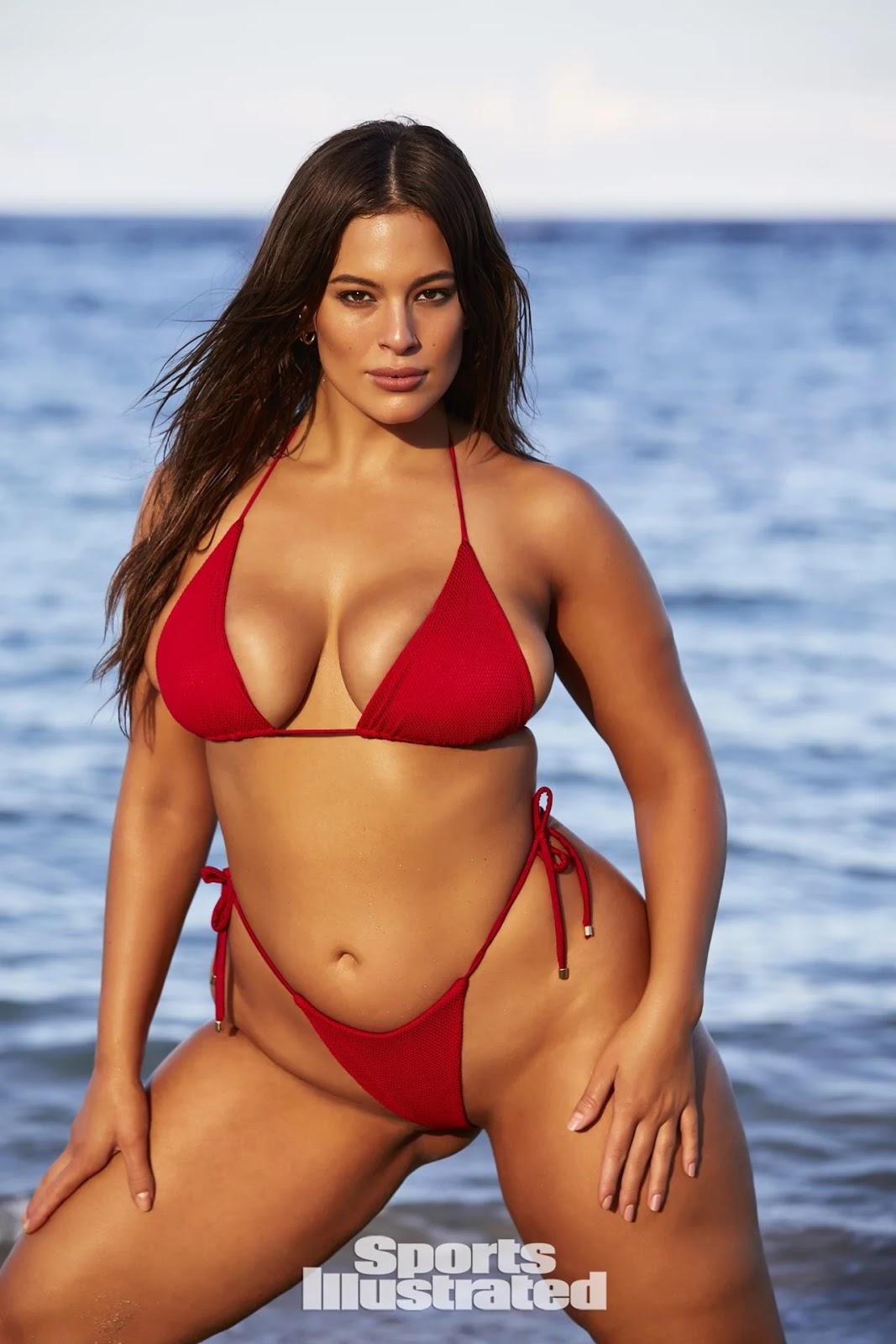 2018 Sports Illustrated SI Swimsuit Bikini Model ASHLEY GRAHAM Various J