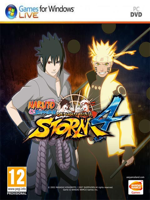 تحميل لعبة Naruto Shippuden Ultimate Ninja Storm 4 برابط مباشر + تورنت