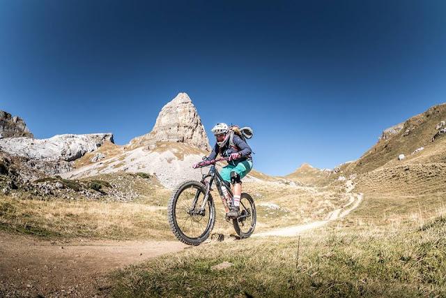 Mountainbike Rofanspitze über Schermsteinalm von Münster