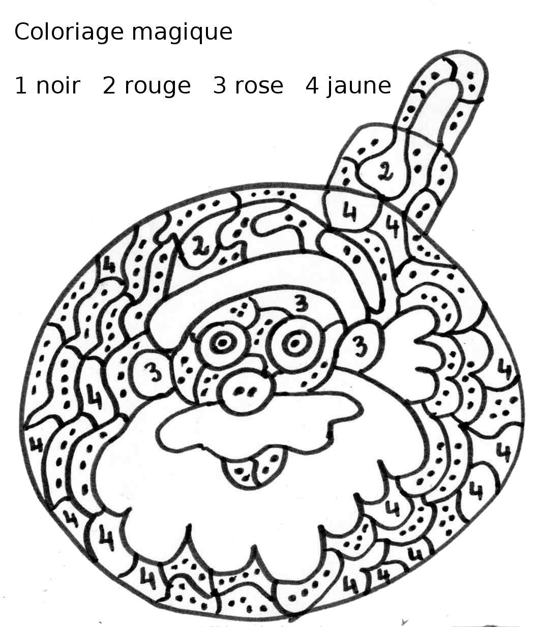 Coloriage Magique Maternelle Petites Sections Et Gs