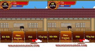 Ninja school online 131 ghép x2