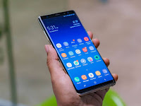 Samsung Galaxy note 9 screen look