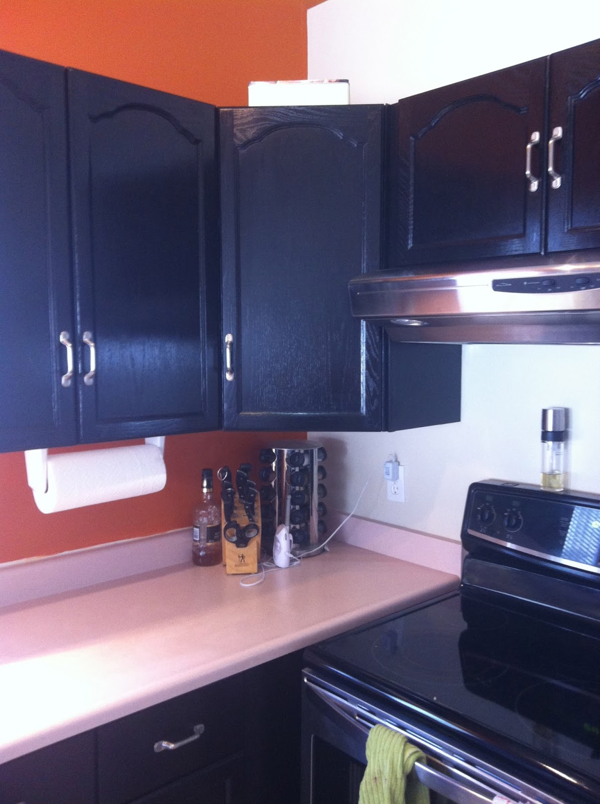 Crafty And Caffeinated Update Oak Cabinets Old Masters