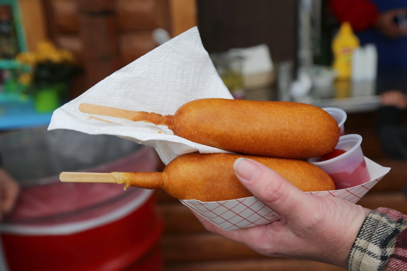 Corn dogs, Alaska State Fair