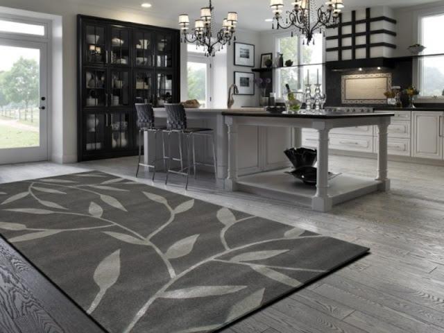 mohawk caffe latte 3-piece printed kitchen rug set