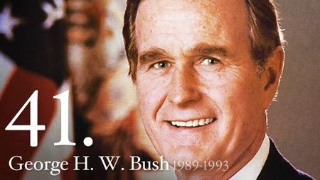 President George H W Bush 1989 - 1993