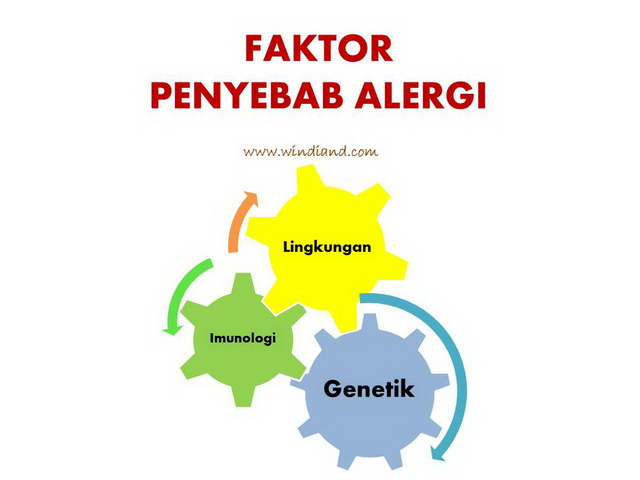 Faktor Penyebab Alergi pada anak