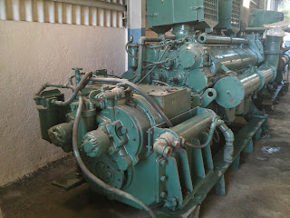 Detroit marine propulsion engines