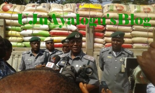 How Nigeria Customs Seized Smuggled Items Worth N10.6bn