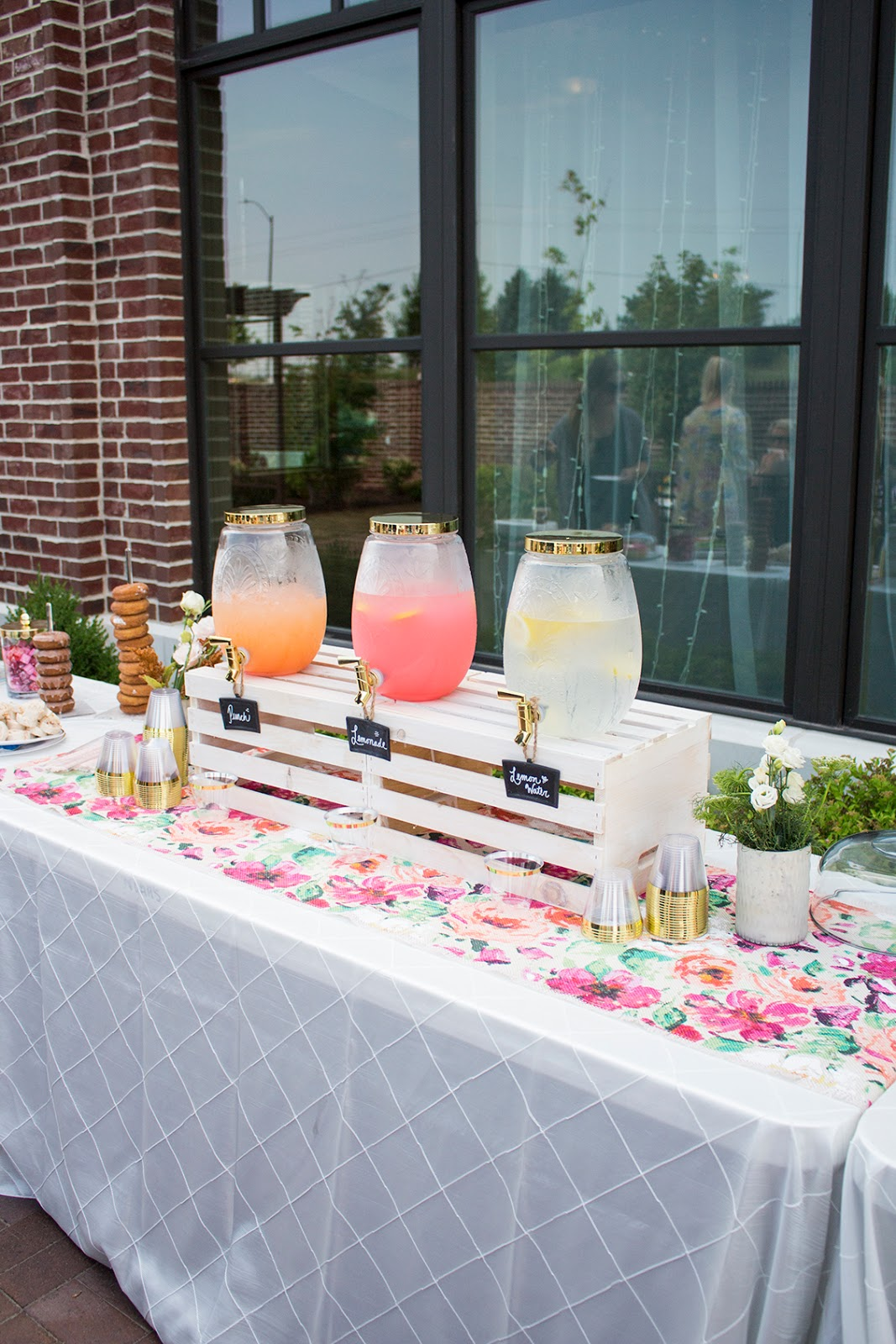 Garden Party Baby Shower - Tay Meets World