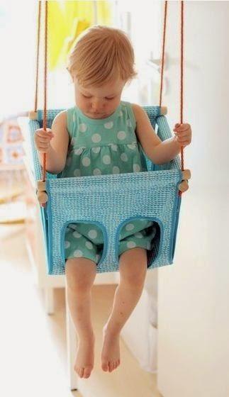 Cómo hacer un columpio para niños DIY