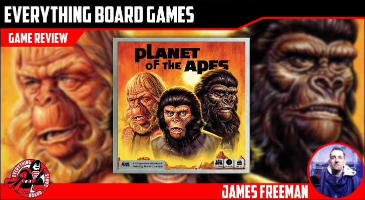 Everything Board Games Planet Of The Apes Review Planet Of The