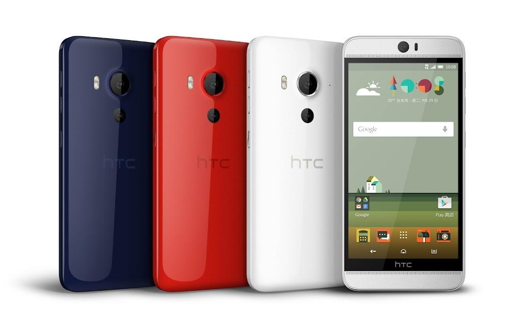 不讓蘋果iPhone6S一支獨賣!HTC發表高階One M9+極光機與蝴蝶機Buttetfly3應戰