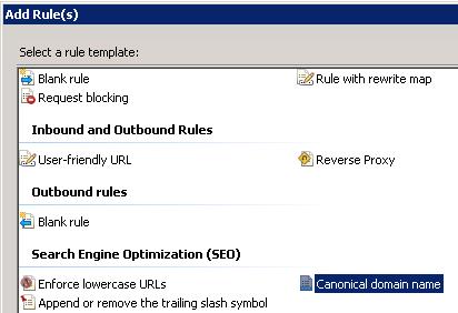 C O D E R Y: IIS 7 URL Rewrite debugging