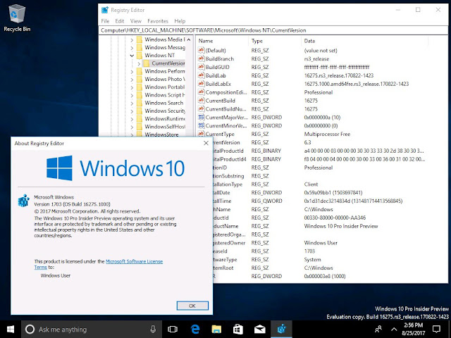 Windows 10 Redstone 3 Build 16275 AIO