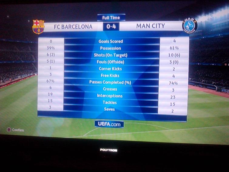 Main pes barcelona vs man city