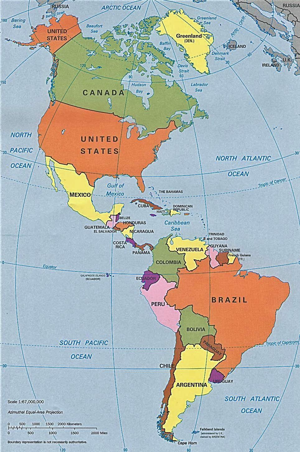 Letak Benua Amerika : letak, benua, amerika, Geografi, Benua, Amerika, Geografi.org