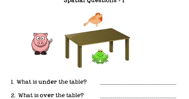 Ms Lane 39 S Slp Materials Spatial Concepts Questions
